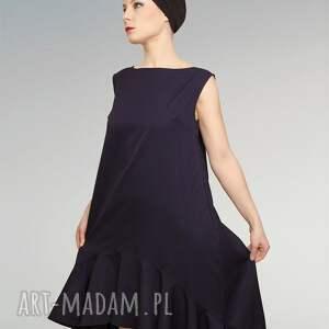 sukienki wełniana elegancka sukienka