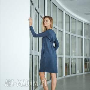 ręcznie robione sukienki sukeinka welt sukienka dresowa