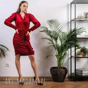 welurowa sukienka na świę sukienki mini mydream