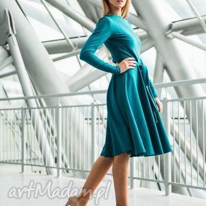 modne sukienki sukienka wheel pensoft | z dzianiny