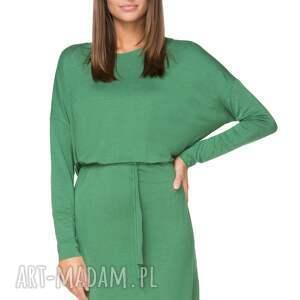 sukienki luźna wiązana sukienka z delikatnej