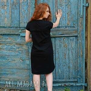 sukienki: Wygodna luźna sukienka - na wieczór na przyjecie