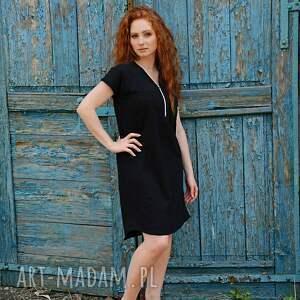 sukienki: Wygodna luźna sukienka - na wieczór