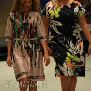 ręcznie robione sukienki wiosna wyjątkowa sukienka maxi