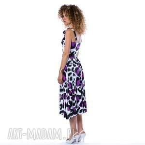 ręcznie zrobione sukienki asymetryczna xenia - sukienka