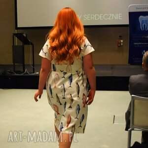 ręcznie zrobione sukienki bawełna zabawna bawełniana maxi sukienka