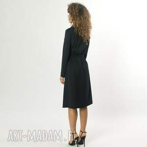 ręcznie zrobione sukienki żakietowa sukienka midi