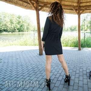 sukienki jersey żakietowa sukienka mini