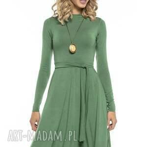 sukienki sukienka zwiewna z miłej w dotyku