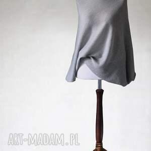 ręcznie robione swetry asymetryczny sweter z wełny merino