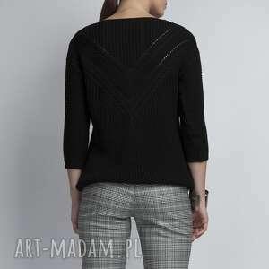 niepowtarzalne swetry ażurowy sweterek, swe041
