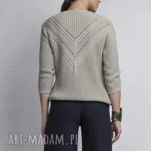 swetry sweter ażurowy sweterek, swe041