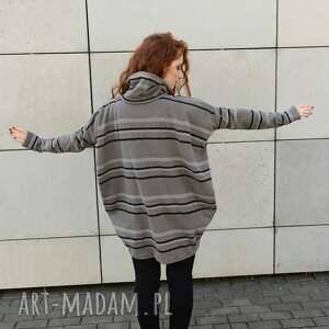 czarne bluza bardzo luźny wygodny sweter