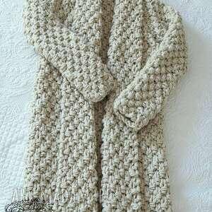 swetry gruby beige chunky