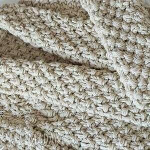 swetry sweter beige chunky