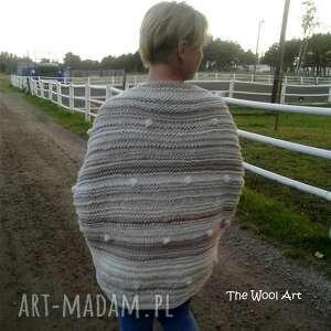 ręcznie zrobione swetry sweter big
