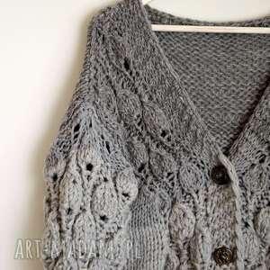 niepowtarzalne swetry sweter big zamówienie p. małgosia