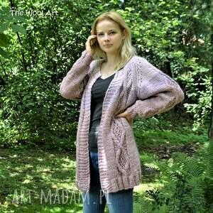 wełniany swetry big sweter