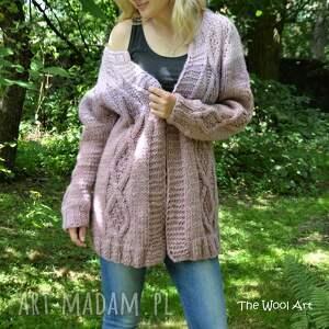 swetry wełniany big sweter
