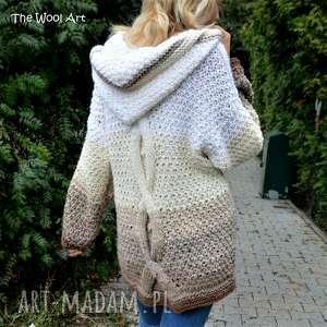 z-wełny swetry big sweter