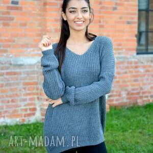 jesienny swetry damski sweter oversize,