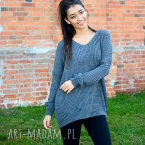 swetry jesienny damski sweter oversize,