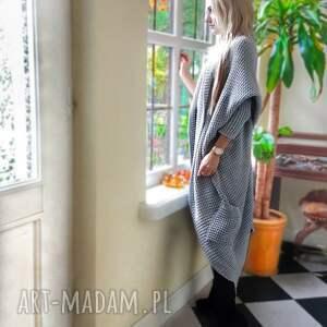 urokliwe swetry długi sweter gruby w kolorze