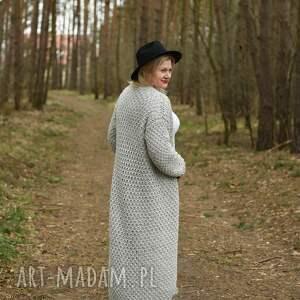 swetry sweter długi kardigan