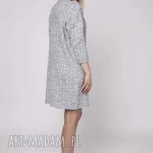 swetry dzianina miękka i niezwykle ciepła dzianinowa sukienka