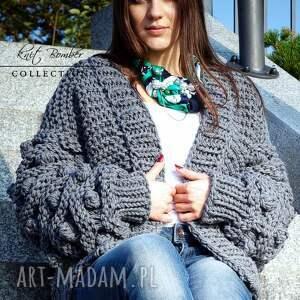 swetry sweter gray bomber