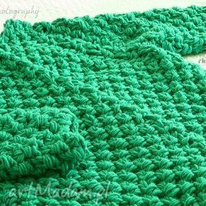 gruby swetry zielony
