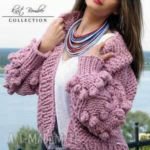 modne swetry heather bomber