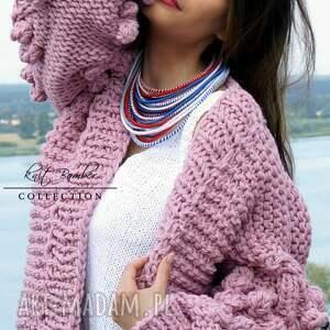 """swetry sweter z kolekcji """"knit bomber"""". zaprojektowany"""