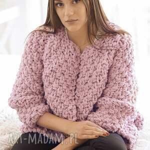 ręczne wykonanie swetry sweter heather chunky