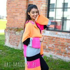 swetry jesienny kolorowy damski sweter