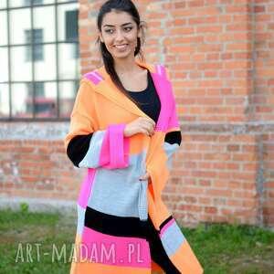 jesienny swetry kolorowy damski sweter