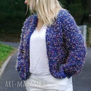 """WoolByMe swetry sweter letni kardigan z kolekcji """"kolorowy"""