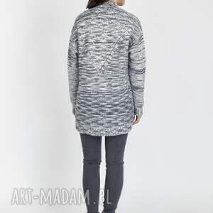 gustowne swetry sweter melanżowy kardigan, swe102