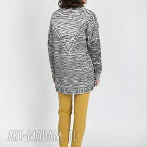 handmade swetry melanżowy kardigan, swe102