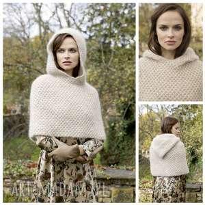 ręcznie robione swetry otulacz beja