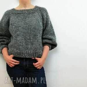 sweter wełniany basic no. 2 - 100%