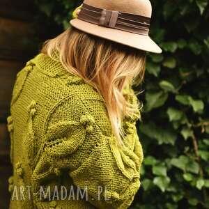 ciepły cardigan swetry sweter wzór