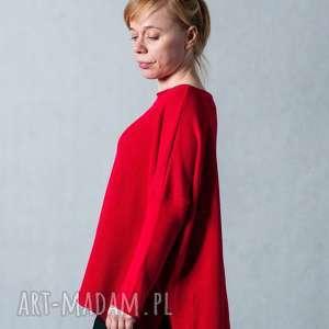 wyraziste swetry sweter czerwony