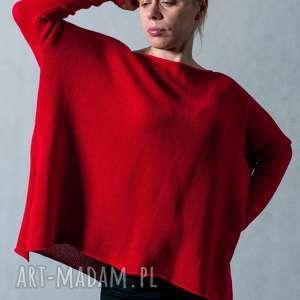 swetry sweter czerwony