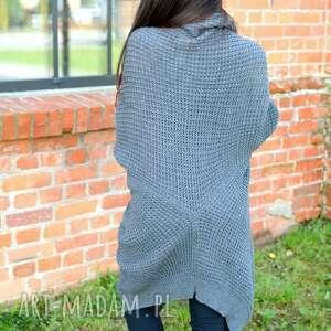 ręcznie wykonane swetry sweter-długi sweter długi gruby uniwersalny