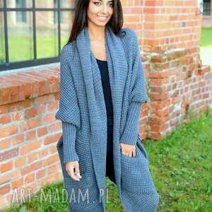 długi-sweter swetry sweter długi gruby uniwersalny