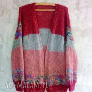swetry sweter z-mohairu mohair/wełna