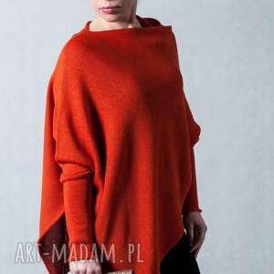 intrygujące swetry sweter ponczo