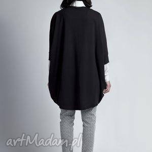 swetry bolerko sweter, swe107 czarny