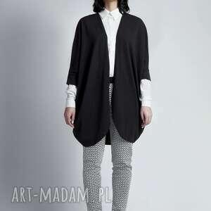 ręczne wykonanie swetry narzutka sweter, swe107 czarny